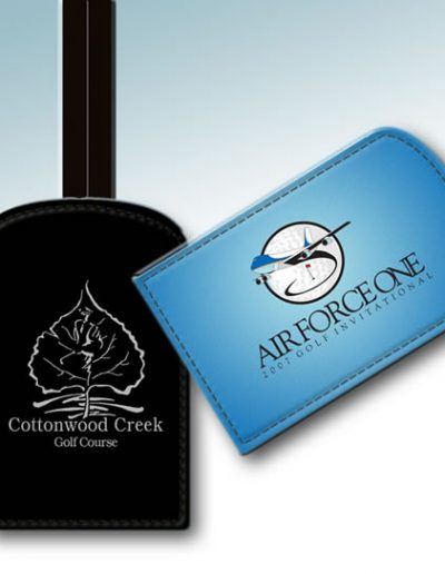 BAG TAGS-AIR FORCE ONE & COTTONWOOD CREEK