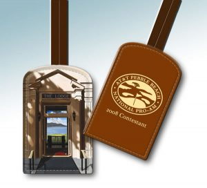 AT&T PEBBLE BEACH BAG TAG