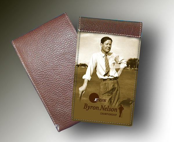 YARDAGE BOOK HP BYRON NELSON CHAMPIONSHIP - with pic