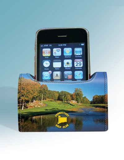 CONNECTICUT GOLF CLUB DESKTOP CELL PHONE CADDY