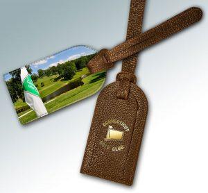 CONNECTICUT GOLF CLUB BAG TAG #2