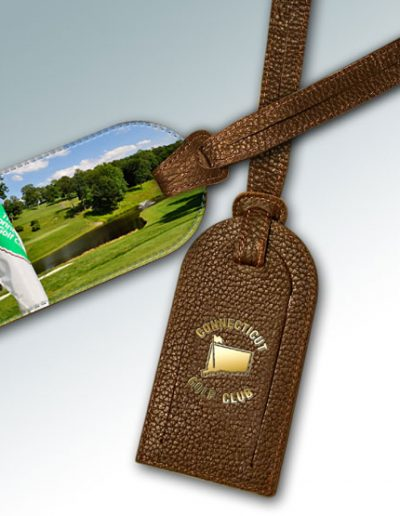 CONNECTICUT GOLF CLUB BAG TAG #2