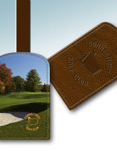 CONNECTICUT GOLF CLUB BAG TAG