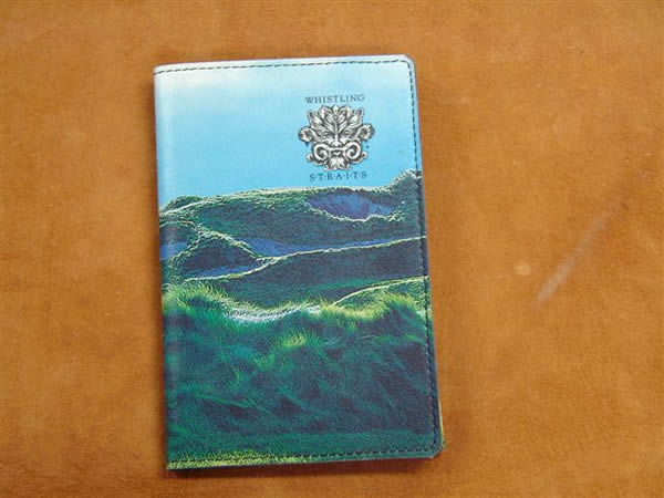 WHISTLING STRAITS SCORECARD WALLET