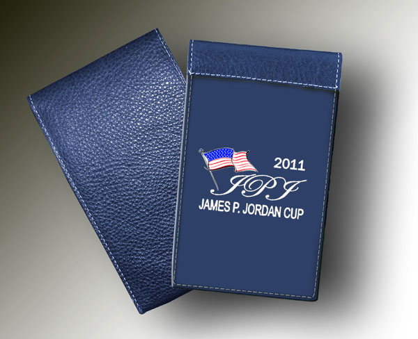 James Jordan YARDAGE BOOK