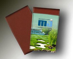 MICHAEL JORDAN YARDAGE BOOK GREEN COURSE