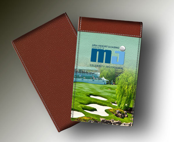MICHAEL JORDAN YARDAGE BOOK GREEN COURSE