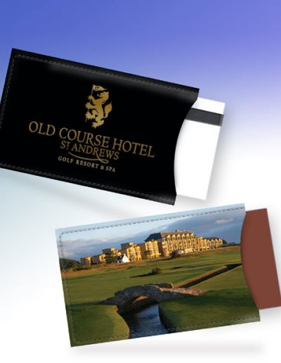 ST. ANDREWS OLD COURSE HOTEL CARD HOLDER