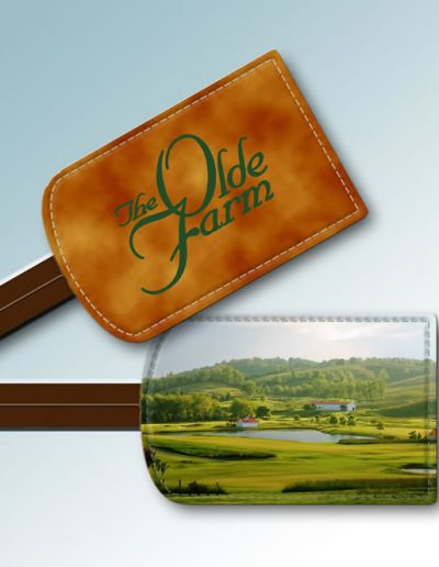 BAG TAG - THE OLDE FARM