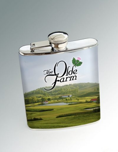 OLDE FARM LIQUOR FLASK