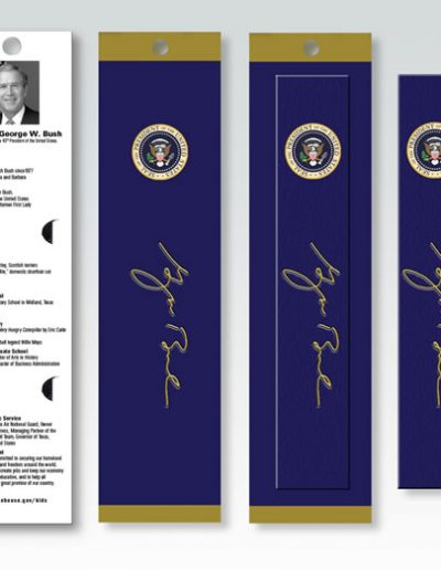 GEORGE W. BUSH POTUS BOOKMARK