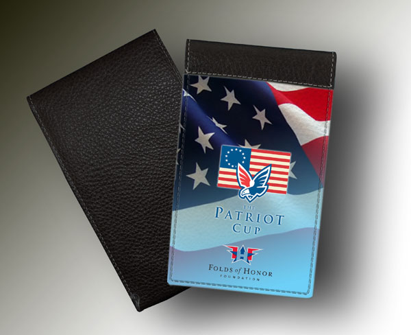 YARDAGE BOOK PATRIOT CUP #2