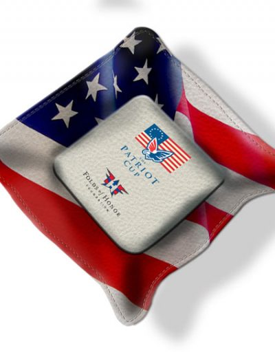 PATRIOT CUP VALUABLES TRAY