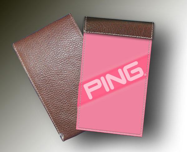 YARDAGE BOOK PING PINK