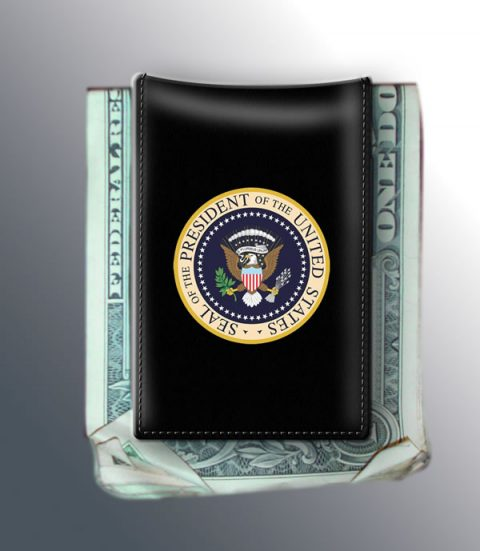 POTUS MONEY CLIP, BLACK