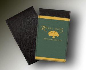 YARDAGE BOOK ROYAL OAKS
