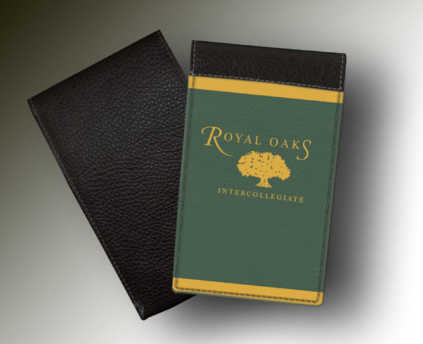 YARDAGE BOOK ROYAL OAKS