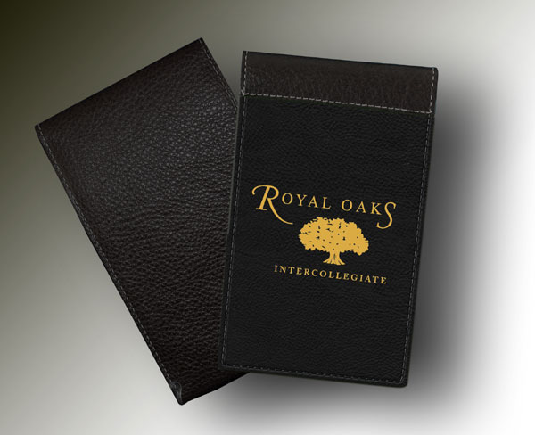 YARDAGE BOOK ROYAL OAKS BLACK