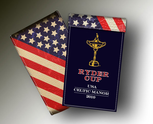 YARDAGE BOOK RYDER CUP