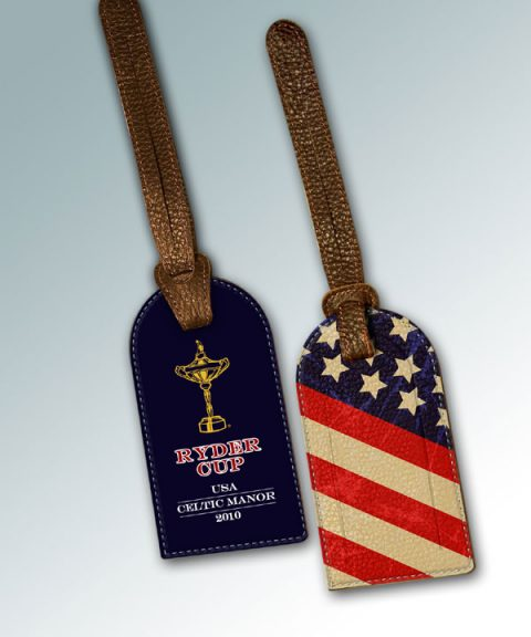 BAG TAG - 2010 RYDER CUP USA CELTIC MANOR