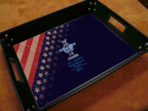 SOLHEIM CUP SERVING TRAY
