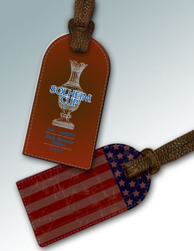 BAG TAG - 2009 SOLHEIM CUP RICH HARVEST FARMS #2