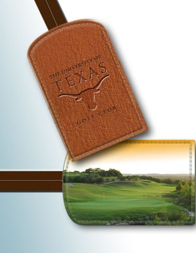 BAG TAG - UNIVERSITY OF TEXAS