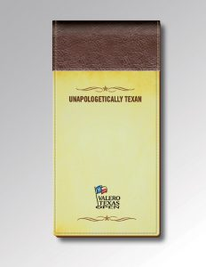 YELLOW UNAPOLOGETICALLY TEXAM MEDIA GUIDE OR YARDAGE BOOK