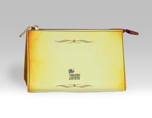YELLOW VALERO TEXAS OPEN GOLF POUCH