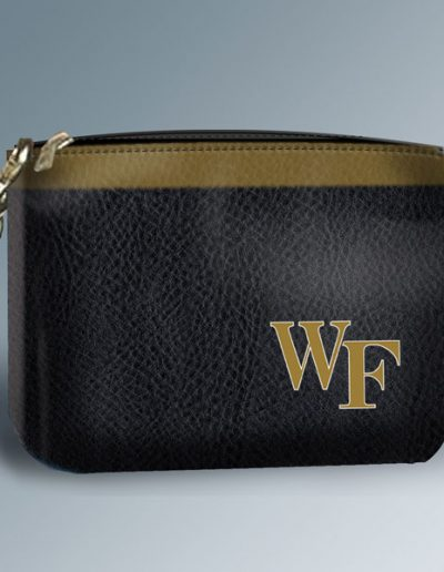 WAKE FOREST GOLF POUCH BLACK