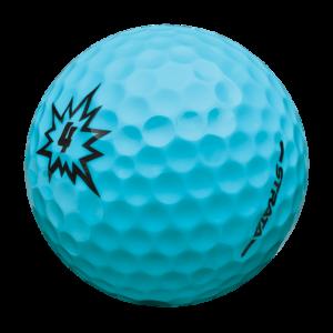 light blue golfball