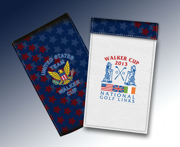 YARDAGE BOOK WALKER CUP 2013